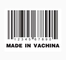 Made in vachina barcode by bluestubble