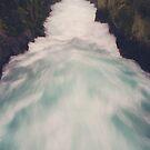 Huka Falls by Karin Elizabeth