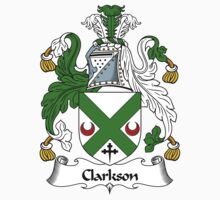 Clarkson Coat of Arms / Clarkson Family Crest by ScotlandForever