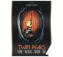 Fire Walk With Me alt Movie Poster Poster