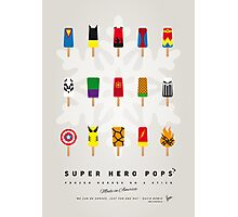 My SUPERHERO ICE POP - UNIVERS Photographic Print