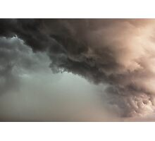 Crazy Rain Cloud Photographic Print