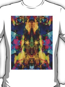 Eiffel Tower In Color T-Shirt