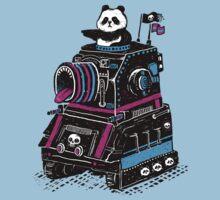 Panda's Skull Tank T-Shirt