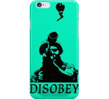 Disobey at War iPhone Case/Skin