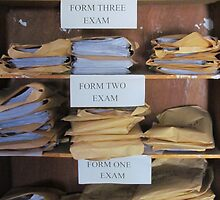 Examination papers, Somalia by Martina Nicolls