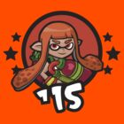 Video Game Heroes - Squidgirl: Orange Team (2015) by Jarmez