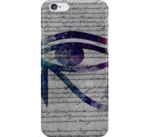 Eye of horus Edit iPhone Case/Skin