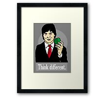 Think Different - Steve Jobs Framed Print