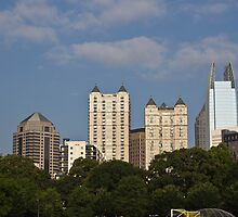 Atlanta skyline from Piedmont park by KSKphotography