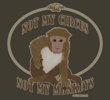 Not My Circus, Not My Monkeys - Polish Proverb by nealcampbell
