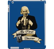 My first Doctor (Who) First 1st William Hartnell iPad Case/Skin