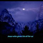 """Jesus who gives all to us"" by Norma-jean Morrison"