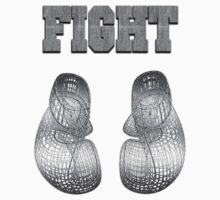 Boxing Gloves Wireframe by 319media