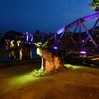 Bridge over River Kwai, Kanchanaburi by indiafrank
