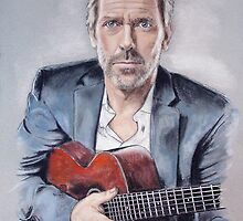 Hugh Laurie by MelannieD