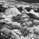 The Frozed Waterfall - Monochrome by photograham