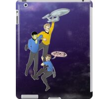 Boldly Go - Star Trek Triumvirate iPad Case/Skin
