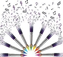 Paint The world with Music by leighlewton
