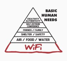 Basic Human Needs Wi-Fi by racooon