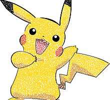 pokemon's Pikachu by leighlewton