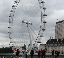 London Eye, England by JessicaJade