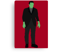 Classic Monsters - Frankenstein's Monster - Colour Canvas Print