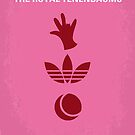 No320 My The Royal Tenenbaums minimal movie poster by Chungkong