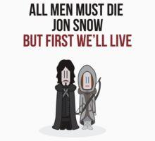 All man must die by creem