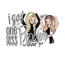 ariana ft iggy - problem cartoon by sparklysky