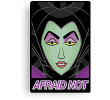 Maleficent - Afraid Not Canvas Print