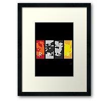 PoKéMoN/RWBY Crossover Framed Print