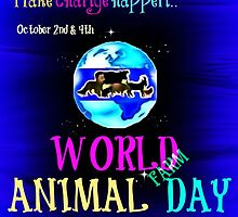 World (Farm) Animal Day by justice4mary