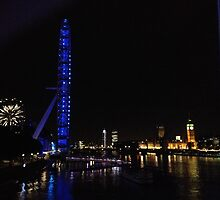 London at night by JessicaJade