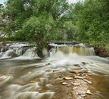 St Vrain Waterfall by Bo Insogna