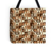 "I'm ""A"" Pattern two (orange) Tote Bag"