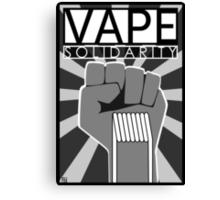 Vape (Solidarity) Canvas Print