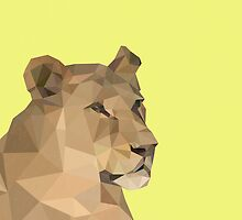 LP Lioness by Alice Protin