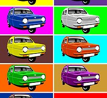 Reliant Robin by car2oonz