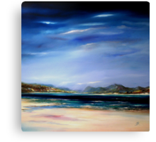 Solitude, Harris Canvas Print