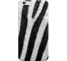 Zebra stripes iPhone Case/Skin