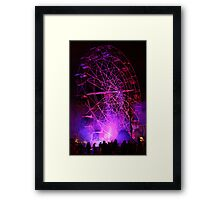 Ferriswheel of Death, Dark Mofo 2014  Framed Print
