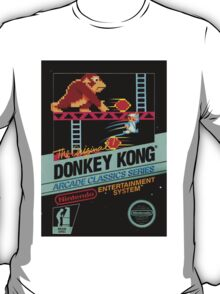 Donkey Kong (NES Cover) T-Shirt