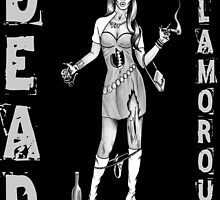 PartGirl Zombie - DEAD GLAMOROUS by mark-chaney