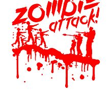 Zombie attack blood soldiers shooting by Style-O-Mat