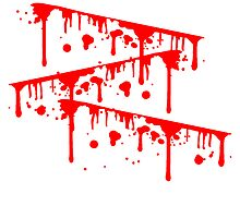Slashed wound blood 3 scratches bleeding to death by Style-O-Mat