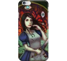 alice: evil eyes iPhone Case/Skin