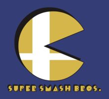 Smash Bros.: Pac-Man by JD  Rowe