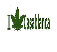 I Love Casablanca by Ganjastan