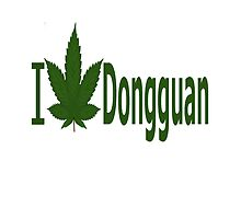 I Love Dongguan by Ganjastan